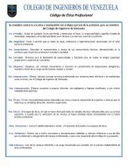 código de ética profesional - colegio de ingenieros de venezuela.pdf