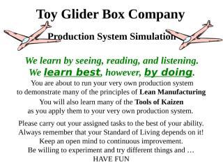 Toy Glider Slides.ppt