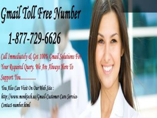 Gmail Toll Free Number 1-877-729-6626 Toll Free (1).pptx