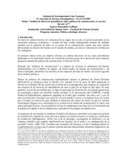 Análisis de discursos periodísticos sobre políticas de comunicación el caso del Decreto 527.docx