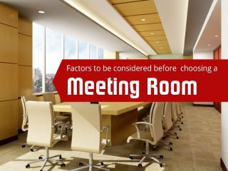Considerations for choosing meeting room rental in Singapore.pptx