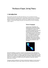 The Bases of Super String Theory.pdf
