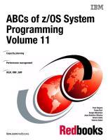 ABCs of zOS System Programming Volume 11.pdf