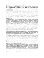 TV Azteca y la industria televisiva mexicana en tiempos de integración regional.docx