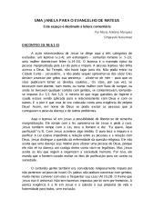 Uma Janela Para o Evangelho de Mateus [Encontro 19].pdf