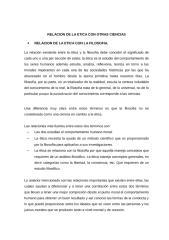RELACION DE LA ETICA CON OTRAS CIENCIAS.docx