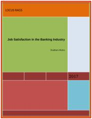 Job Satisfaction in the Banking Industry 2.doc