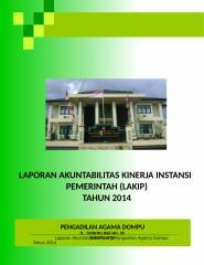 LAKIP PA. DOMPU 2014.doc