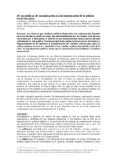 De las políticas de comunicación a la incomunicación de la política.docx