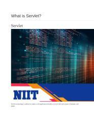What is Servlet NIIT.pptx