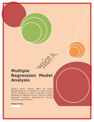 Multiple Regression Model Analysis.docx