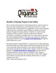 Benefits of Buying Organic Food Online.doc