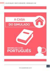 A Casa do Simulado - Minissimulado 13.pdf