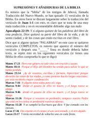 SUPRESIÓNES Y AÑADIDURAS DE LA BIBLIA.doc
