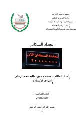 التعداد السكاني في مصر بحث محمد محمود طلبة.doc