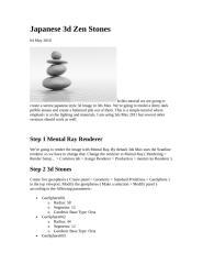 Japanese 3d Zen Stones.doc