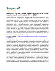 Biobanking Market - Global Industry Analysis, Size, Share, Growth, Trends and Forecast, 2013 – 2019.pdf