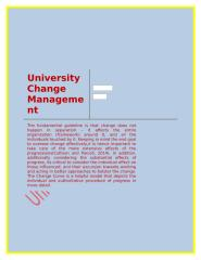 University Change Management.docx