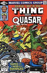 6 - marvel two in one 73 - thing & quasar (extraido de bm la cosa 10) por mastergel.cbr