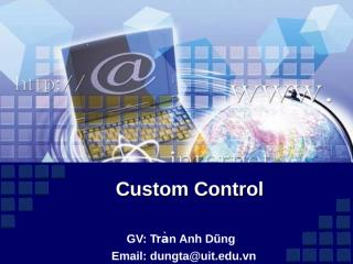 Chuong 9. Custom control.ppt