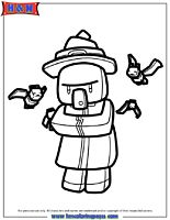 Cartoon minecraft coloring pages 3 gif